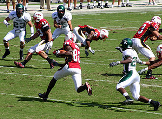 Torrey Smith - Torrey Smith returns a kick during the Terps' 51-24 victory over Eastern Michigan, September 20, 2008.