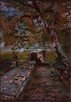 Toulouse-Lautrec - CHATEAU DU BOSC, LA TERRASSE, 1880, MTL.44.jpg