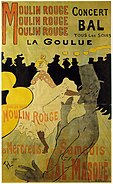 Toulouse-Lautrec - Moulin Rouge - La Goulue