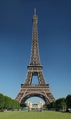 essay on eiffel tower in french language