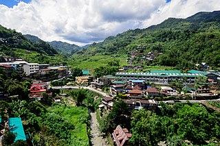 Banaue Municipality in Cordillera Administrative Region, Philippines
