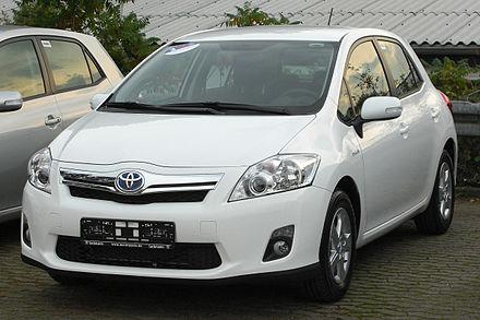 Продажа Toyota Auris в Москве. Купить Тойота Аурис...