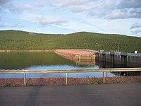 Trängslet dam reservoir.JPG