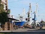 Trader and Explorer at the Paljassaare Shipyard Tallinn 8 September 2013.JPG