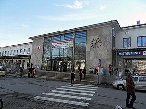 Rosenheim station - Entrance building