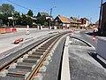 Travaux de la branche vers Vieux-Condé de la ligne B du tramway de Valenciennes en mai 2012 (111).JPG