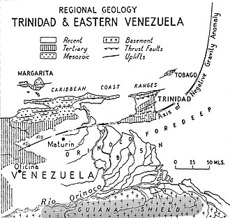 Trinidad - Regional Geology of Trinidad and Venezuela