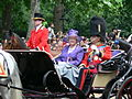 Trooping the Colour 2006 - Her Majesty the Queen (169165621).jpg