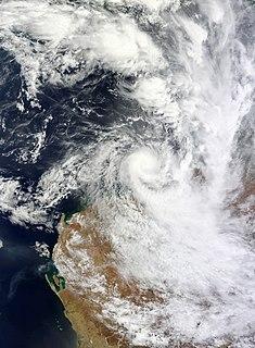 Cyclone Heidi Tropical cyclone in 2012