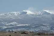 Truchas peak winter