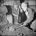 Tule Lake Relocation Center, Newell, California. Evacuee blacksmiths do all the blacksmith work nec . . . - NARA - 536728.jpg