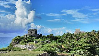 Tulum Maya Site in Quintana Roo, Mexico