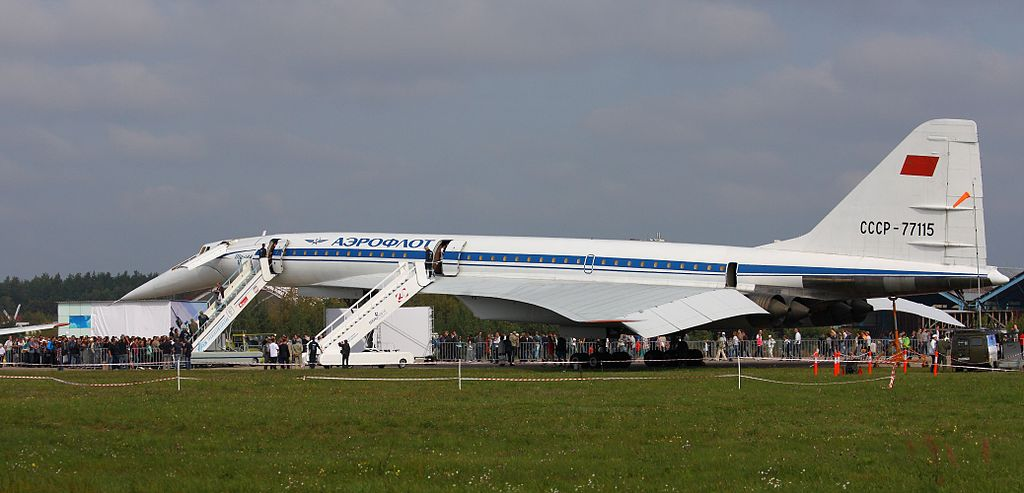Tupolev Tu-144 at the MAKS-2013 (01)