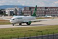 Turkmenistan Airlines Boeing 737-82K EZ-AO16 (26371690832).jpg