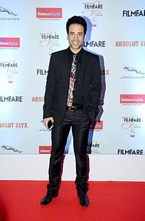 Tusshar Kapoor Indian actor and producer (born 1976)