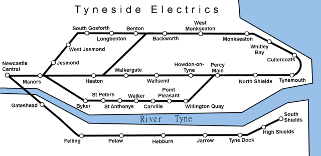 Tyneside Electric network