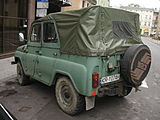 UAZ-469 on Garbarska street in Kraków (3).jpg