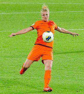 Kirsten van de Ven Association footballer