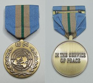 United Nations Medal - Image: UNMEE medal