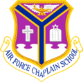 USAF - Chaplain School Second Emblem.png