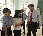 USAID Vietnam Mission Director Michael Greene visits Hue University of Medicine and Pharmacy (37454176562).jpg