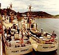 USCG 82-foot cutters at Da Nang 1965-07-24 2.jpg