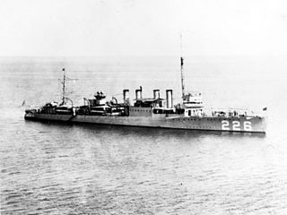 USS <i>Peary</i> (DD-226) Clemson-class destroyer of the United States Navy
