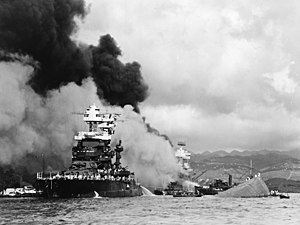 Image result for uss maryland under attack