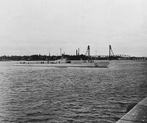 Cachalot-class submarine - Image: USS Cachalot 19 N 14689