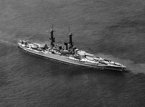USS Idaho (BB-42) at 1927 naval review
