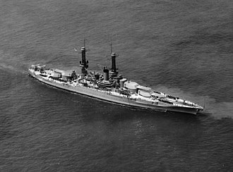 USS Idaho (BB-42) - Image: USS Idaho (BB 42) at 1927 naval review