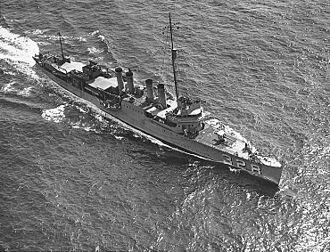 Clemson-class destroyer - Image: USS Lamson (DD 328)