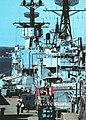 USS Newman K. Perry (DD-883) and USS Miller (FF-1091) at Newport RI c1980.jpg
