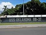 USS Oklahoma Memorial - Ford Island 05.JPG
