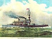 USS Oregon Halstead 1898