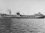 USS Patuxent (AO-44) underway in Chesapeake Bay in November 1942.jpg