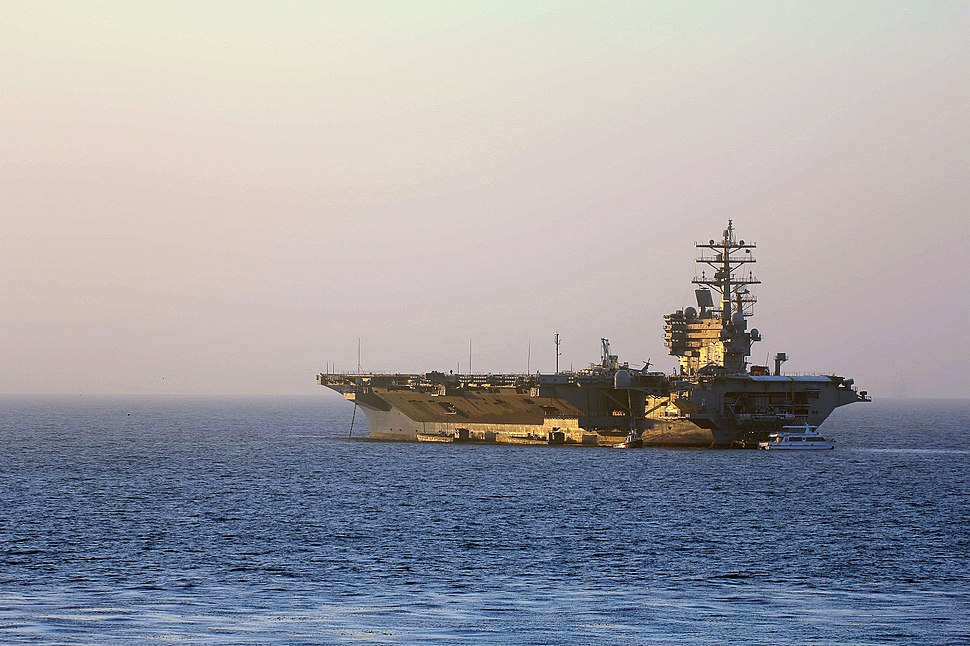 USS Ronald Reagan (CVN76) in Santa Barbara, May 31st, 2014