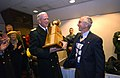 US Navy 021207-N-2383B-784 Midshipman receive the Secretary's Trophy after beating Army 59-12.jpg