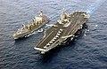 US Navy 030403-N-9964S-023 USS Harry S. Truman (CVN 75) comes alongside the Military Sealift Command Oiler USNS John Lenthall (T-AO 189) for an underway replenishment (UNREP).jpg