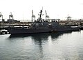 US Navy 080919-N-4236E-090 The guided-missile destroyer USS Ramage (DDG 61) is moored in Haifa, Israel.jpg