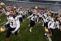 US Navy 081206-N-5549O-639 U.S. Naval Academy Midshipmen rush the field in a victory celebration following the end of the 109th Army-Navy college football game.jpg