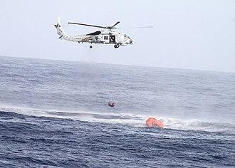 Carrier Strike Group 10 - Rescue of Pakistani fishermen (6 July 2010)