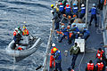 US Navy 110209-N-9818V-306 Sailors aboard the guided-missile destroyer USS Fitzgerald (DDG 62) participate in a man overboard drill.jpg