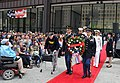 US Navy 110528-N-IK959-170 Rear Adm. David F. Steindl, right, follows a wreath representing the U.S. Armed Forces during a wreath laying ceremony a.jpg