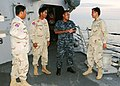 US Navy 111025-N-NJ145-002 Boatswain's Mate 2nd Class Suorth Suom, a Cambodian-American Sailor assigned to the guided-missile destroyer USS Kidd (D.jpg