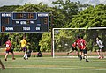 US Navy Sailors and the People's Liberation Army Navy Midshipmen play soccer match 151013-N-WC566-222.jpg
