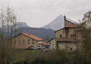 Mondragón - A country house near Mondragón.