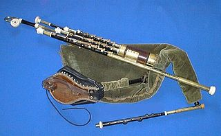 Uilleann pipes characteristic national bagpipe of Ireland