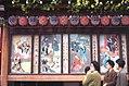 Ukiyo-e style signboard, Kabuki-za (Kabuki theater), Ginza, Tokyo (1967-05-07 by Roger W).jpg