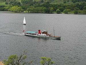 Ullswater 'Steamers' - Image: Ullswater Steamer. geograph.org.uk 182541